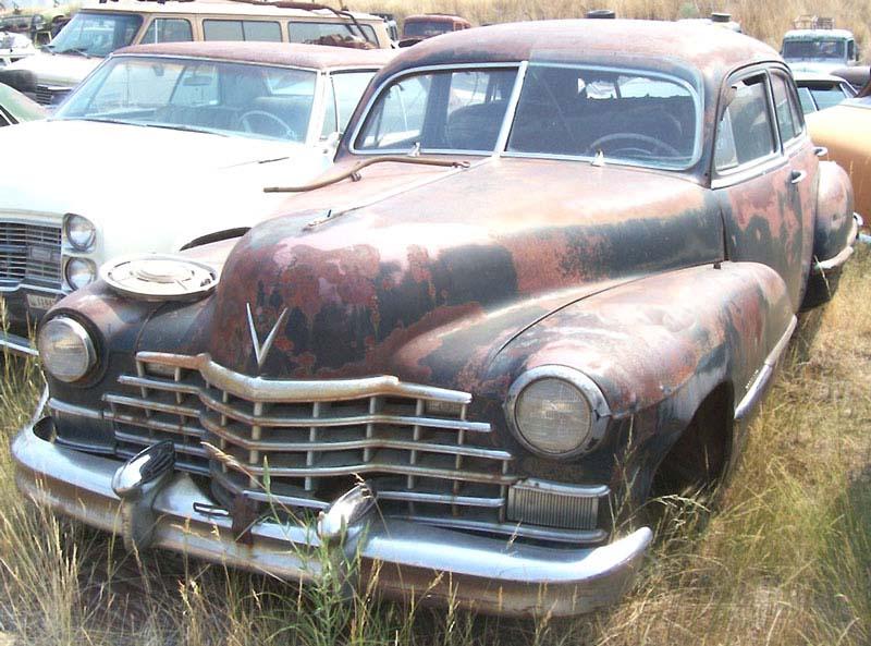 1947 Cadillac Series 62 Four Door Sedan For Sale