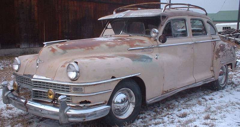 1948 Chrysler Windsor Traveler 4 Door Sedan For Sale
