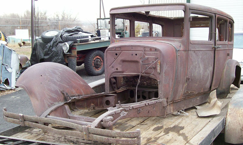1928 dodge victory 4 door sedan body and chassis for sale for 1929 dodge 4 door