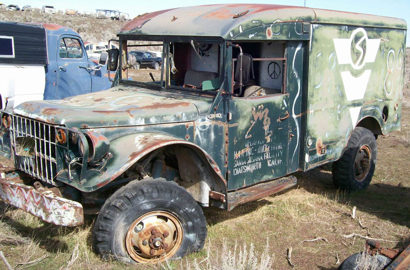 1960 Dodge M37 3 4 Ton 4x4 Ambulance Utility Vehicle For Sale