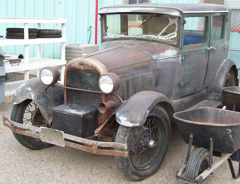 1929 Ford Model A Briggs Body 4 Door Sedan For Sale