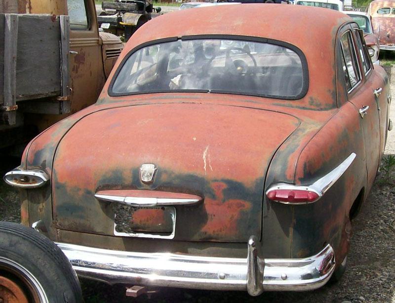 1951 Ford Custom V 8 Four Door Sedan For Sale
