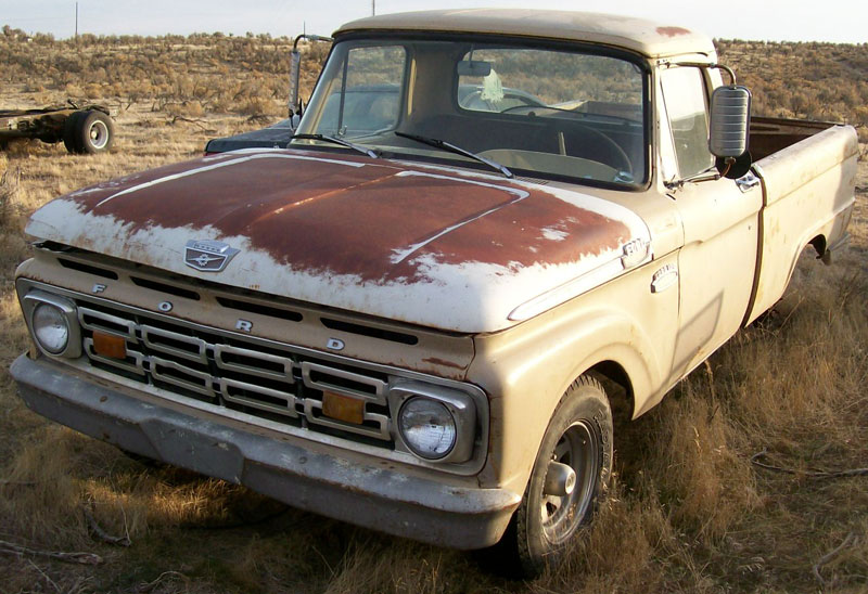 1964 Ford F 100 Styleside 1 2 Ton Pickup Truck For Sale