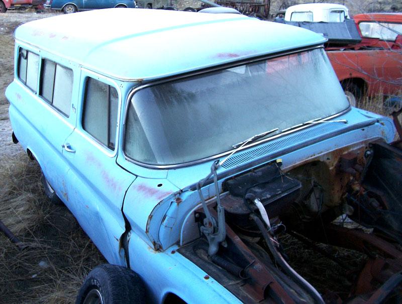 1962 gmc series 100 suburban carryall 2 door 1 2 ton panel truck for