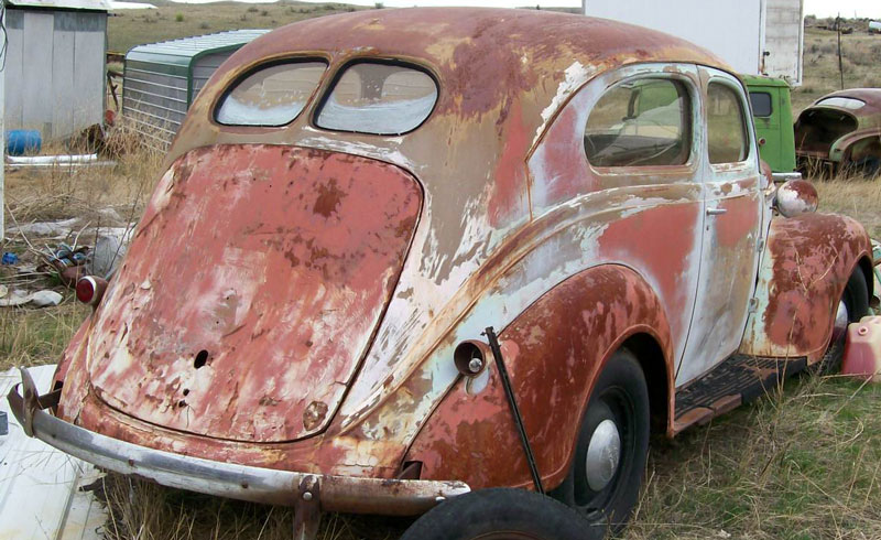 1937 Plymouth P3 Two Door Sedan For Sale