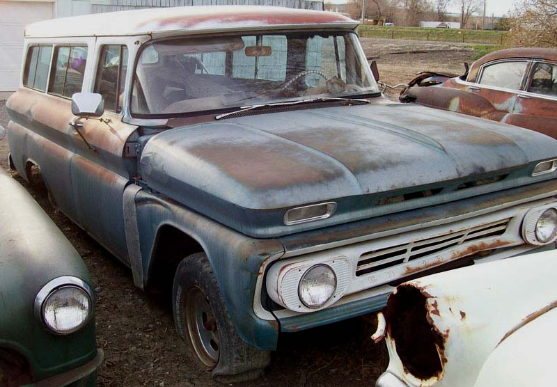 1962 Chevrolet Model C14 Series 10 1 2 Ton 2 Door Suburban
