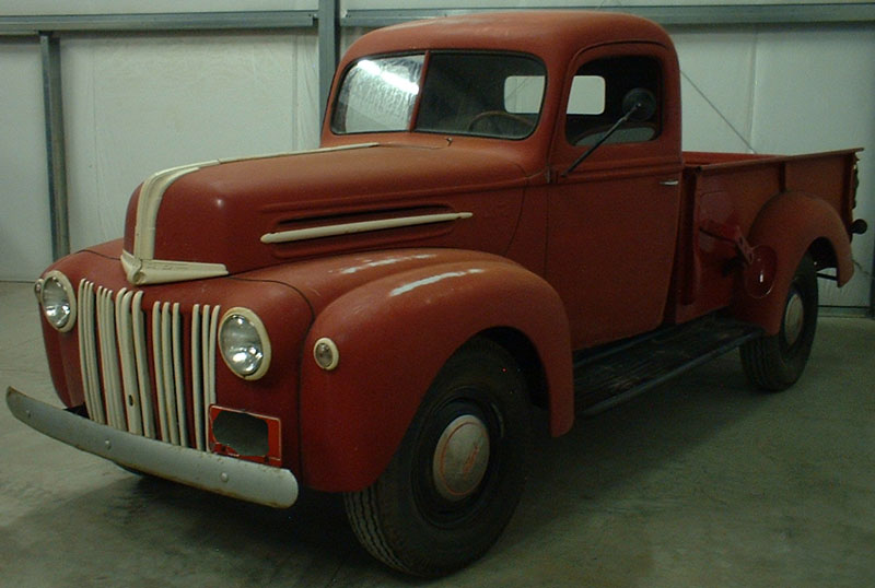 1947 Ford Series 7gy 3 4 1 Ton Pickup Truck For Sale
