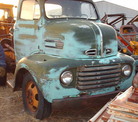 1950 ford f 6 coe cab over engine no bed commercial truck for Ford truck motors for sale