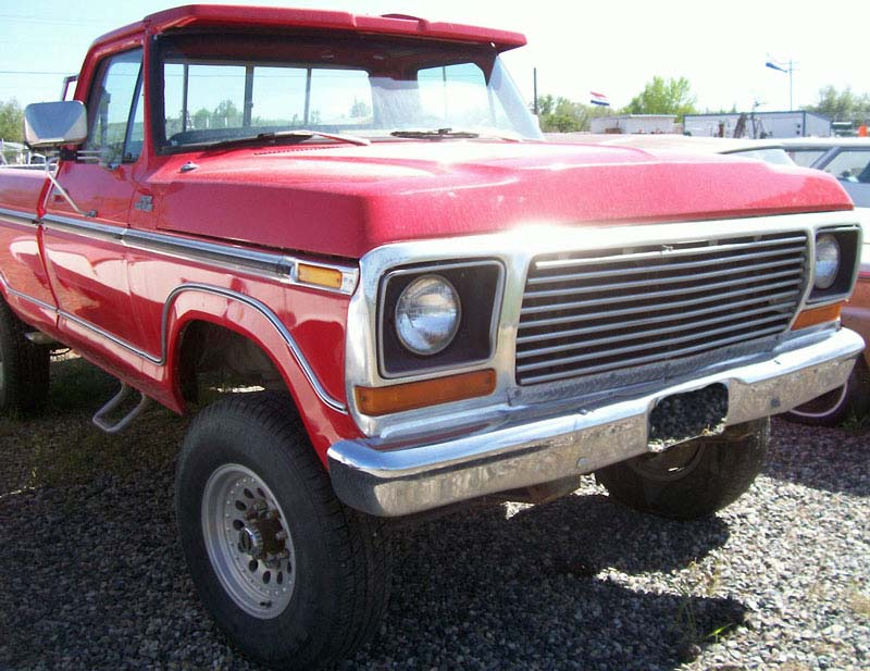 1977 Ford F-150 Ranger 4X4 1 2 Ton Pickup Truck For Sale  6 ad48dda314f