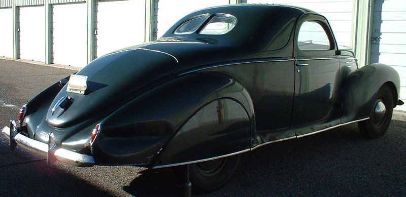 1939 Lincoln Zephyr Twelve V 12 3 Window Coupe For Sale