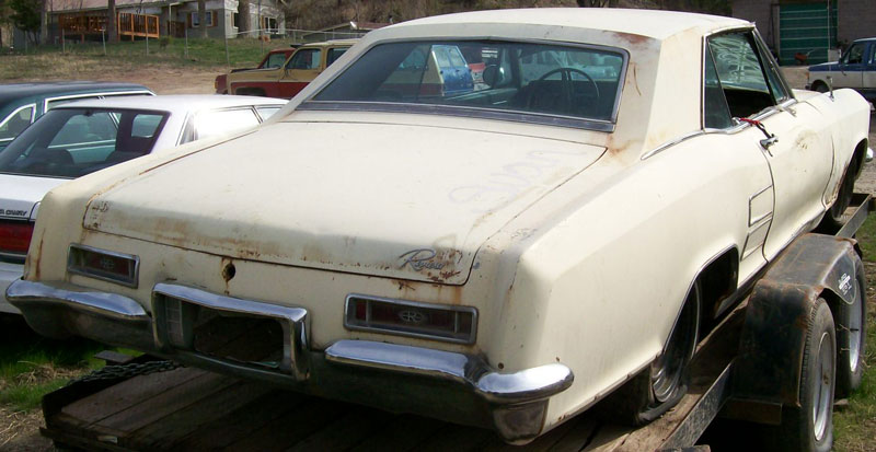 1964 Buick Riviera Series 4700 Two Door Hardtop Sport Coupe For Sale $ ...