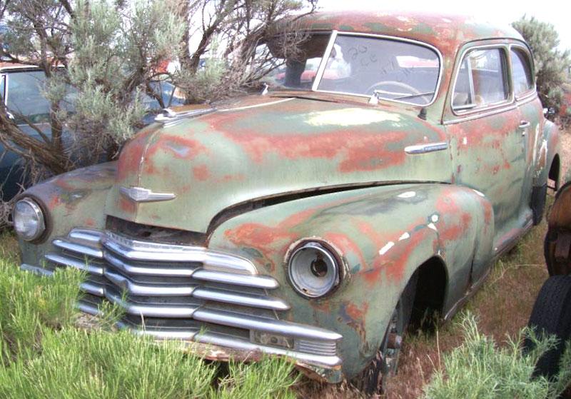 1947 Chevrolet Fleetmaster Six Series 2100ek 2 Door Sedan