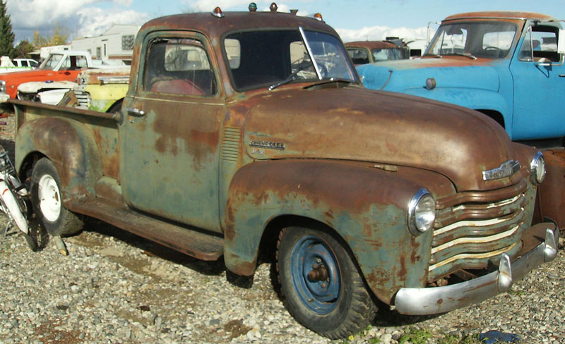 1949 Chevrolet Model GP Series 3100 1/2 Ton Pickup Truck ...