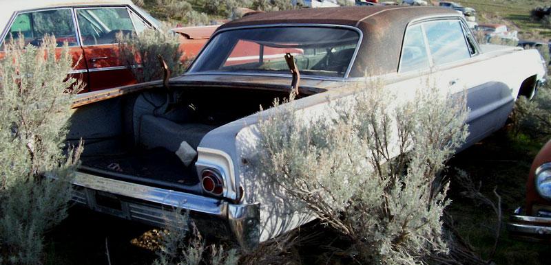1964 Chevrolet Impala Ss Super Sport 2 Door Hardtop With