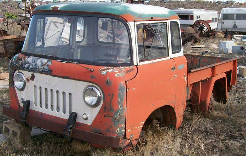 1962 Willys Jeep Fc 150 Forward Control 3 4 Ton Stake Bed Pickup