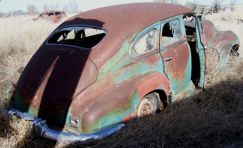 1948 Oldsmobile Dynamic Seventy Model 76 4 Door Fastback