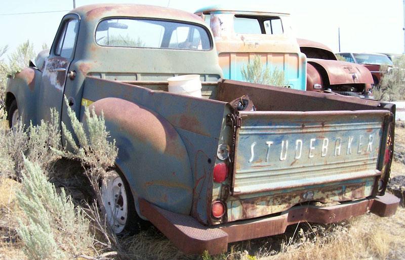 Studebaker Truck Fenders : Studebaker e series model scotsman ton