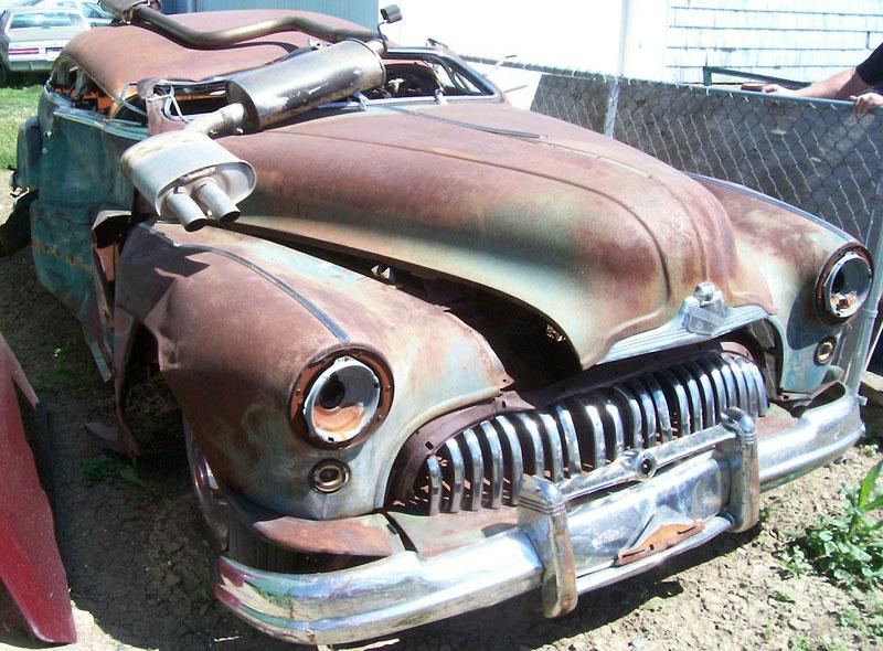 1948 Buick Roadmaster Model 76c Convertible For Sale