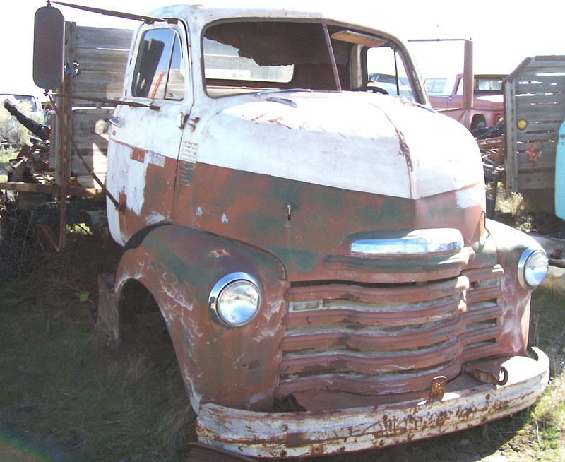 1949 Chevrolet Series 5700 COE Cab-Over-Engine Flatbed Truck