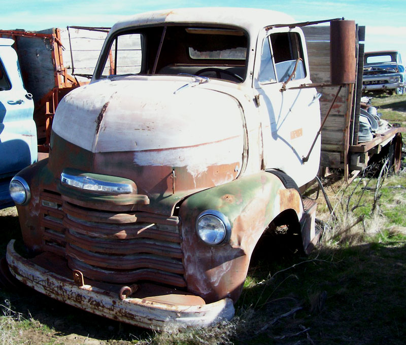 1949 Chevrolet Series 5700 Coe Cab Over Engine Flatbed