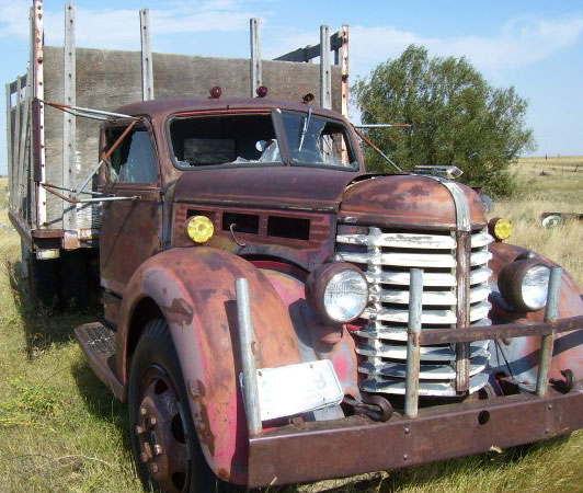 1946 Diamond T Model 509h 2 Ton Stake Bed Truck For Sale