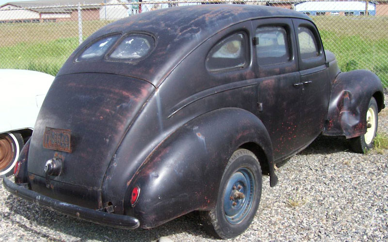 1939 Ford Standard Eight Series 922a Four Door Fastback
