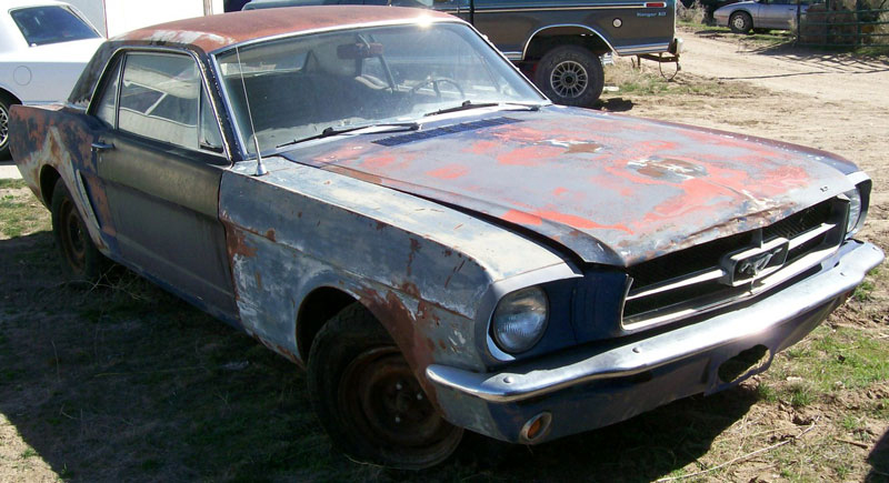 1965 Ford Mustang 2 Door Hardtop 289 V 8 Auto For Sale 7000 Right