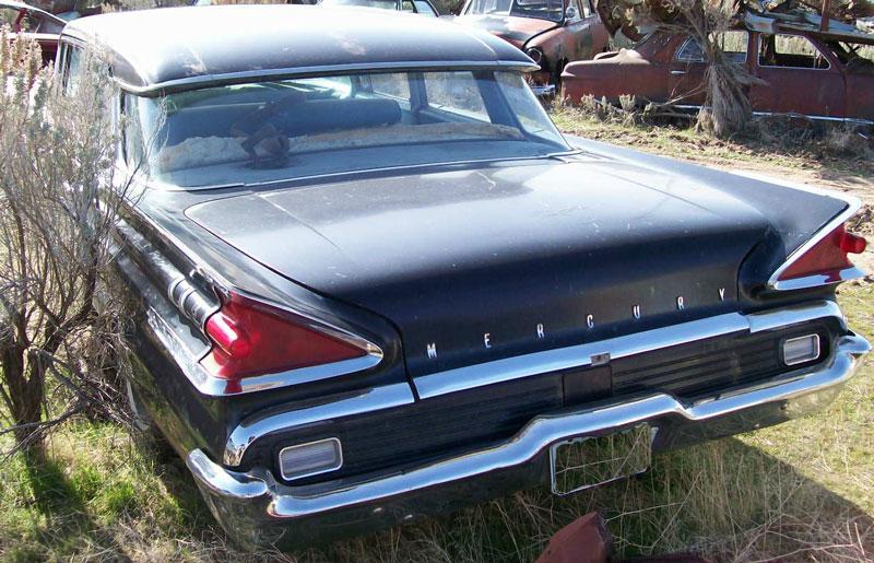 1959 Mercury Monterey Model 58a Four Door Sedan For Sale