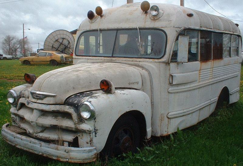 1954 Chevrolet Superior Coach Model 1040 28 Passenger