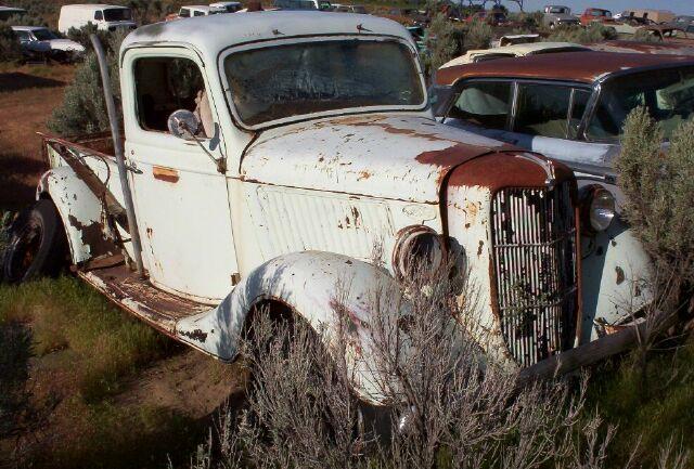 1935 Ford Model V8 50 Model 83 Closed Cab 1 2 Ton Pickup