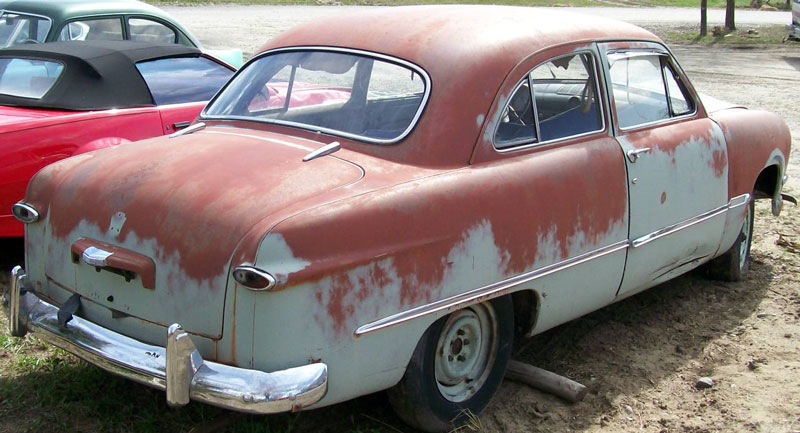 1950 ford custom deluxe six 2 door sedan for sale