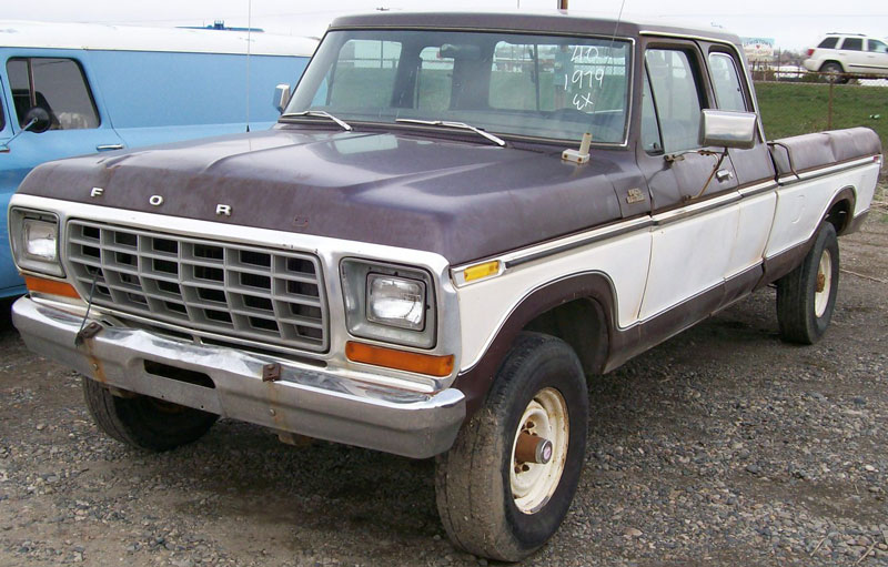 1979 Ford F 250 Ranger Super Cab 4x4 3 4 Ton Pickup Truck For Sale