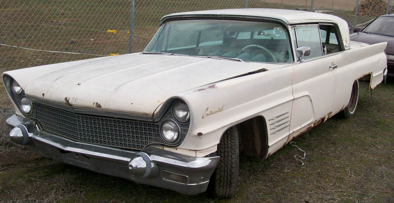 1960 Lincoln Continental Mark V Body Style 65a 2 Door