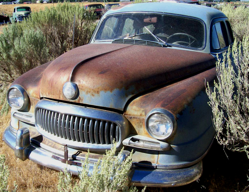 Nash Statesman Super Series Four Door Fastback Sedan For Sale