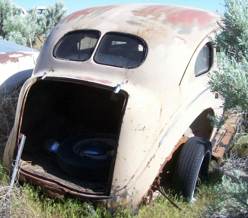 1939 Plymouth Deluxe Model P8 Six 4 Door Sedan For Sale