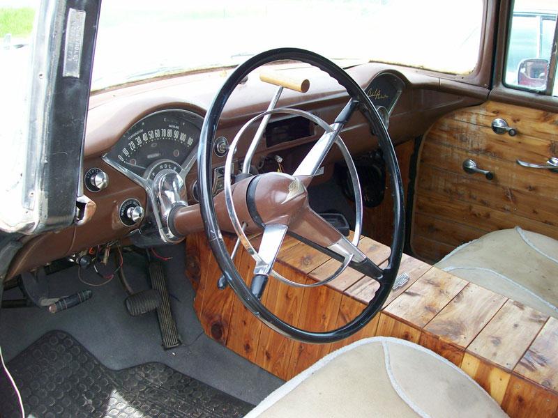1955 Chevrolet Bel Air Old School Hotrod 4 Door Sedan For Sale