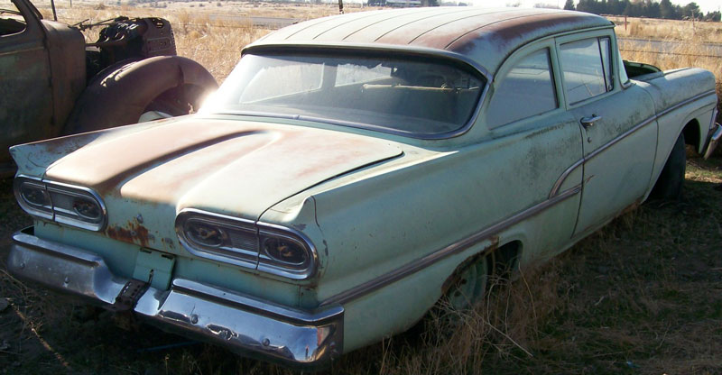 1958 Ford Custom Six Series 2 Door Post Sedan For Sale