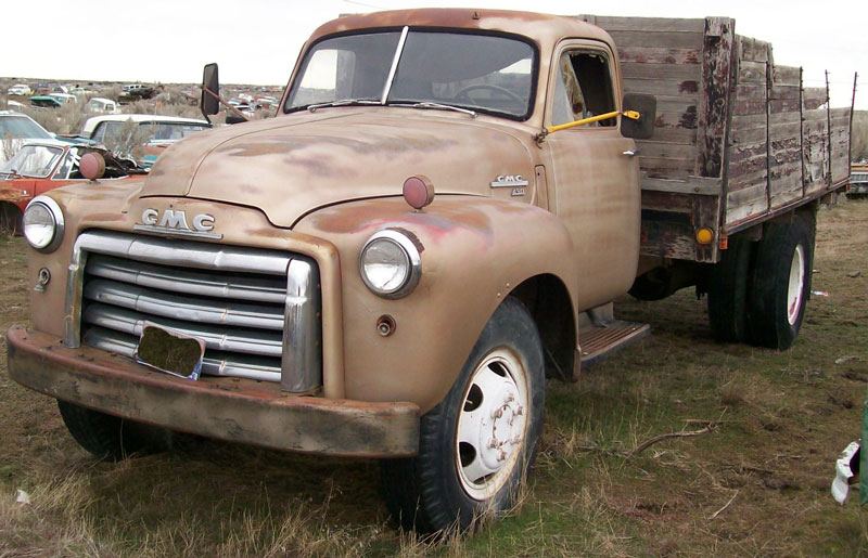 1950 Gmc Series 450 Two Ton Flatbed Farm Truck For Sale