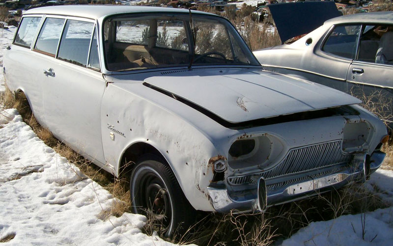 1961 Ford Taunus Turnier 17m Super P3 Three Door Station