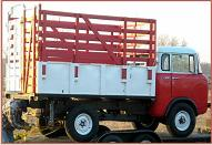 1959 willys jeep fc 170 forward control 1 ton 4x4 stakebed truck for sale. Black Bedroom Furniture Sets. Home Design Ideas