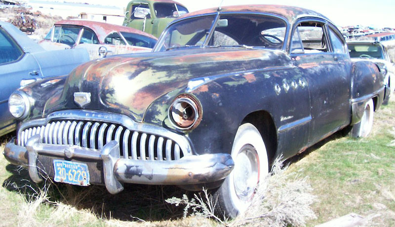 1949 buick roadmaster sedanette 2 door fastback for sale. Black Bedroom Furniture Sets. Home Design Ideas