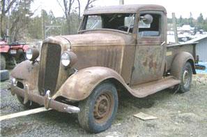 1934 Chevrolet Model Db 1 2 Ton Pickup Truck For Sale