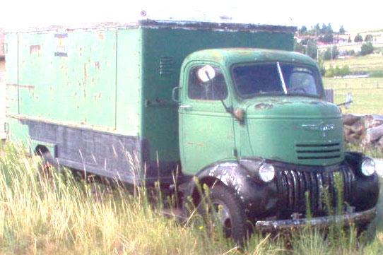 1941 Chevrolet COE Cab Over Engine Truck Van For Sale