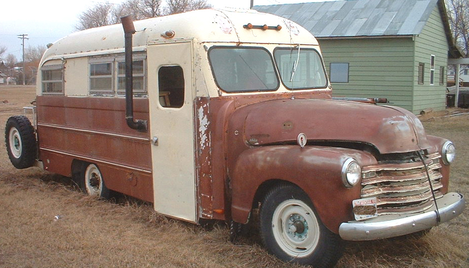 Old Chevy Buses For Autos Weblog