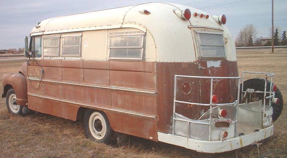 1949 Chevrolet Series 3800 School Bus RV Conversion For Sale