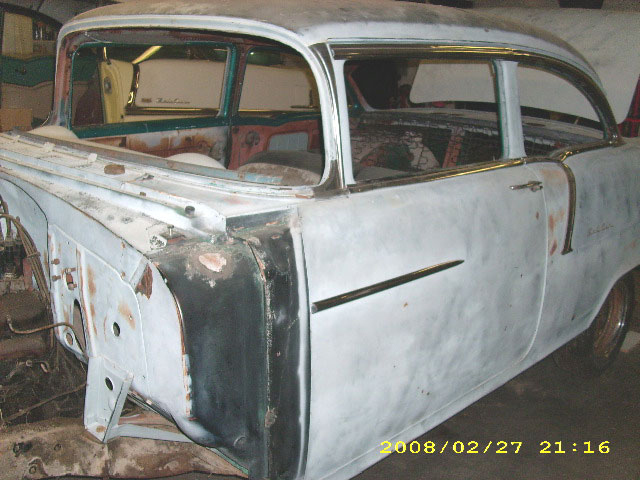 1955 Chevrolet Bel Air 2 Door Post Sedan For Sale