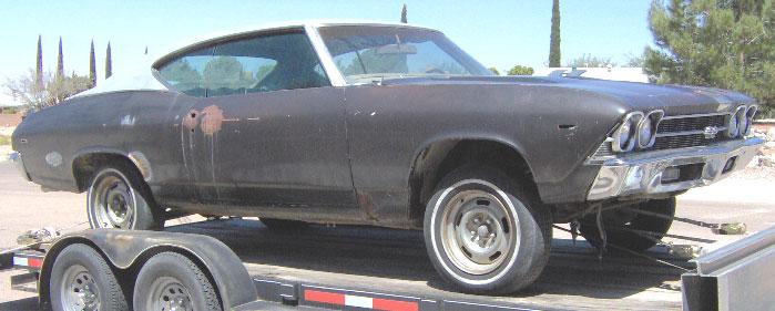 1969 Chevrolet Chevelle Ss 396 2 Door Hardtop For Sale