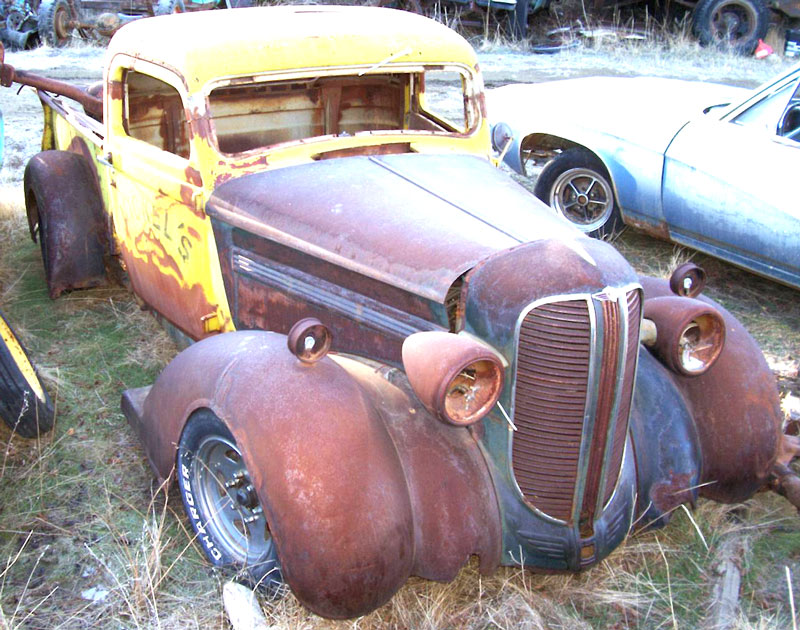 1938 Dodge Model RC 1/2 Pickup Chopped Hot Rod For Sale