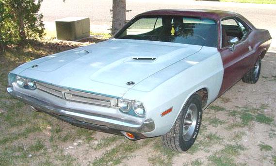 1971 Dodge Challenger R/T 2 Door Hardtop For Sale