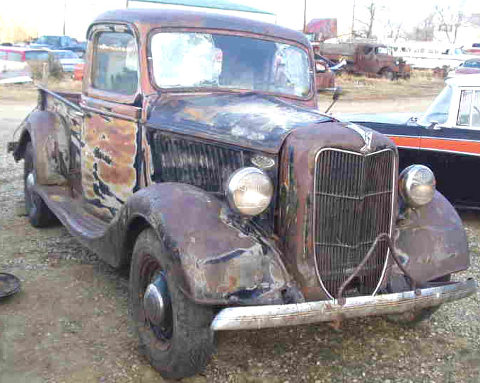 1936 Ford Model 68 V 8 1 2 Ton Pickup For Sale
